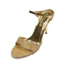 Brillo Chispeante Tacón stilettos Sandalias Salón Solo correa zapatos (087039908)