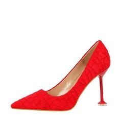 De mujer Ante Tacón stilettos Salón Cerrados con Otros zapatos (085139800)