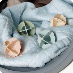 Plastic Vaskebold Tørretumbler Bold Holder Tøjvask Blød Frisk Vaskemaskine Tørretumbler (Sæt af 4) Gaver (129140536)