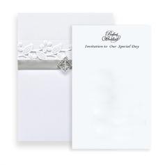 Classic Style Wrap & Pocket Invitation Cards (Sæt af 10) (118040279)