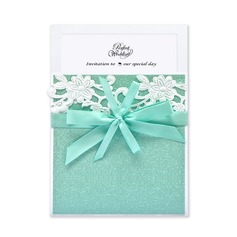 Classic Style Wrap & Pocket Invitation Cards med Bånd (Sæt af 10) (114040281)