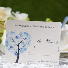 Personalized Modern Style Response Cards (Set of 50) (114063964)