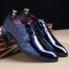 Herren Kunstleder Zuschnüren Derbies Abendschuhe Herren-Oxford-Schuhe (259187617)
