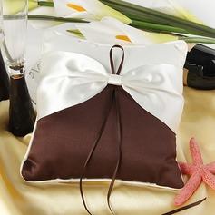 Tyylikäs Rengas Tyyny sisään Satiini jossa Satiininauhavöitä (103018243)
