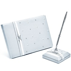 Perfetto Strass/Arco Guestbook & Set di penne (101018186)