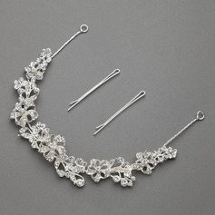 Fancy Rhinestone/Alloy Headbands (042060466)