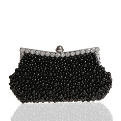 Élégante Pearl Pochettes/Boutonnières/Emballage/Sac de noce/Sacs à main Mode/Maquillage Sacs/Sac de Luxe (012141835)