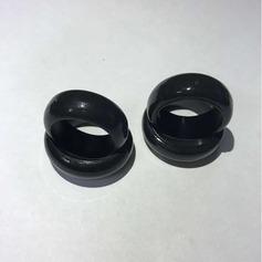 Modern Silikone Fashionable Resin Fashion Rings Gaver (129140561)