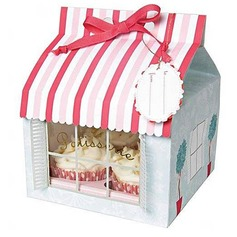 Patissiere Cupcake Boxes With Ribbons (Set of 12) (050024717)