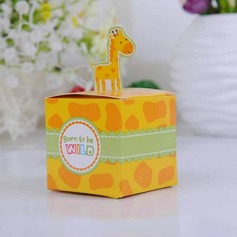 Cute Giraffe Cubi Scatole di Favore (set di 12) (050024304)