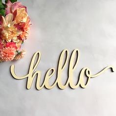 Stile classico Bella/Lettera Legno Wedding Sign (Venduto in un unico pezzo) (131167209)