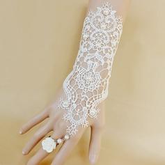Non-personaliseret Moderigtigt Pearl Lace Smykke Sæt (2 stk) (129061257)