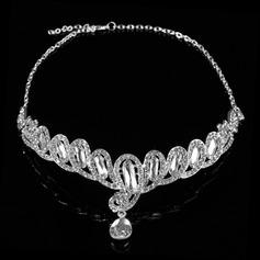 Gorgeous Strass/Legering Panna smycken (042026794)