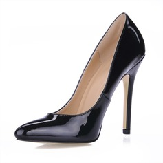 LACKSKINN STILETTKLACK Stängt Toe Pumps (085017461)