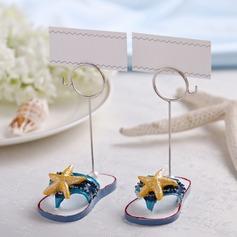 Estrellas de mar o pescados diseño Resina Los Titulares de Tarjeta del Lugar (Juego de 2 piezas) (051041534)