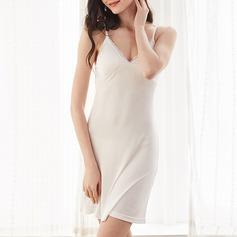 SilK Feminine Sleepwear (041198458)
