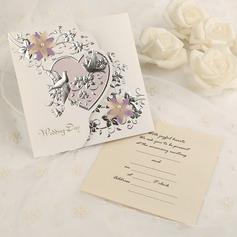 Classic Style Tri-Fold Invitationskort (Sæt af 50) (114091460)