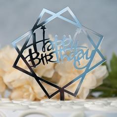 Buon compleanno Acrilico Decorazioni per torte (119157004)
