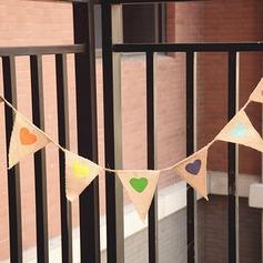 Semplice/Stile classico/Triangolo Bella/Elegante Biancheria Decorazioni per Matrimonio (7 Pezzi) (131174312)