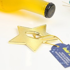 Unpersonalisierte Stern Form Legierung Flaschenöffner (052124511)