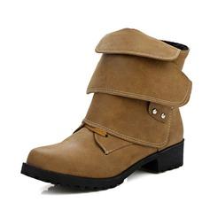 Frauen PU Niederiger Absatz Flache Schuhe Stiefelette mit Schnalle Andere Schuhe (088144285)