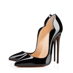 Frauen Lackleder Stöckel Absatz Absatzschuhe mit Andere Schuhe (085114616)