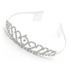 Prachtige heldere kristallen Bruids Tiara (042012940)