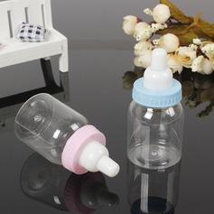 Stile classico A Forma di Bottiglia Plastica Barattoli e Bottiglie (set di 12) (050166446)