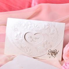 Heart Style Tri-Fold Invitation Cards (Sæt af 50) (114033288)