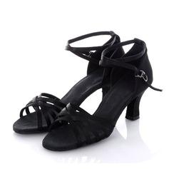 Donna Raso Tacchi Sandalo Latino Scarpe da ballo (053011478)