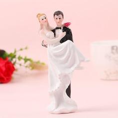 Coppia Classic/Sposa e Sposo Resina Decorazioni per torte (Venduto in un unico pezzo) (119187422)