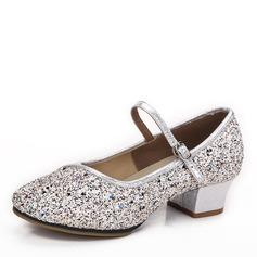 Kvinnor Glittrande Glitter Klackar Bal Dansskor (053182570)