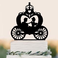 Coppia Classic/Felice Anniversario Acrilico Decorazioni per torte (Venduto in un unico pezzo) (119187349)