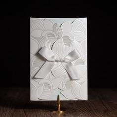 Stile classico/Stile Floreale Side Fold Biglietti d'invito con Fiocco/Fiocchi (Set di 50) (114084658)