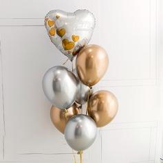 Bella Elegante Alluminio Lamina/Emulsione Palloncino (7 Pezzi) (131175213)