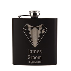 Flasks Classic Stainless Steel Rectangle Personalized Gifts (129166812)