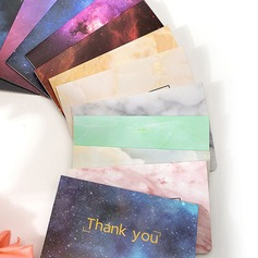 Modern Style Side Fold Thank You Cards (Set of 50) (114205164)