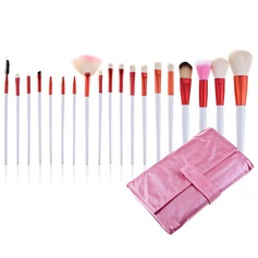 Roze Bag Professionele make-up kwasten (20 stuks) (046024402)