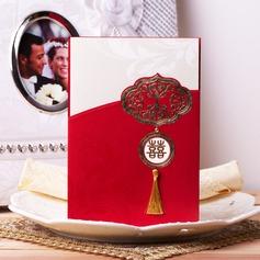 Asiatisk stil Wrap & Pocket Invitation Cards med Kvaster (Sæt af 50) (114041269)