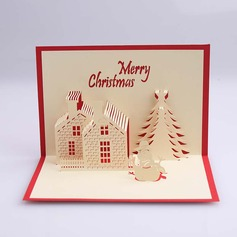 Three-dimensional Merry Christmas Greeting Cards (114059165)