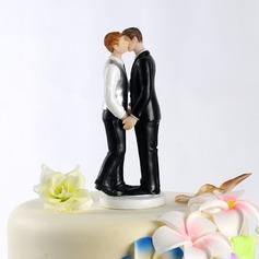 Stesso Sesso Resina Matrimonio Decorazioni per torte (122036157)