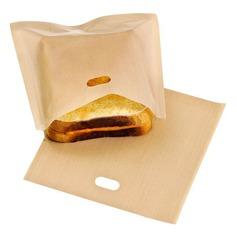Moderno Clássico Non Stick Reuseable Toaster Bags para Sandwich e Grelhar (Conjunto de 6) Não Personalizado Presentes (129140465)
