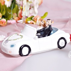Vehicle Resin Wedding Cake Topper (122036188)