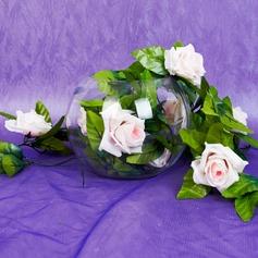 Plástico Rosa vid decoración de la boda (131037534)
