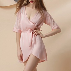 Polyester/Artificial Silk Bridal/Feminine/Fashion Sleepwear (041120785)