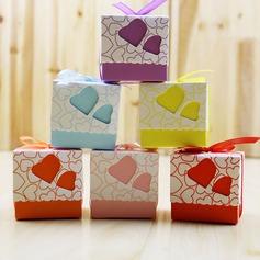 Cubique papier Boites de faveur et conteneurs (Lot de 100) (050169452)