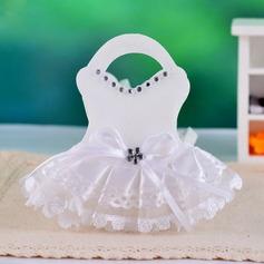 Forme de la robe Sacs cadeaux avec Strass (Lot de 12) (050039039)