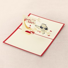 Three-dimensional Owl Greeting Cards (114042493)