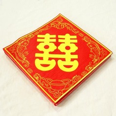 Double Happiness Design Dinner Napkins (Set of 20) (011036242)