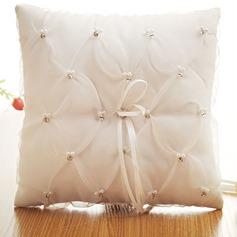 Elegante Anello Cuscino in Panno con Arco/Di faux perla (103187551)